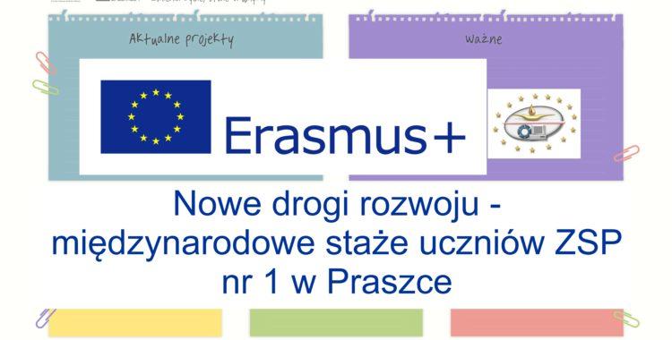 ERASMUS+ startuje na SPORTOWEJ!